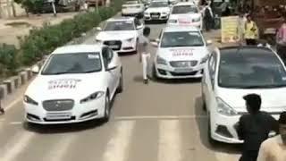 #luxury cars Delhi jagat singh rally #abvp ????