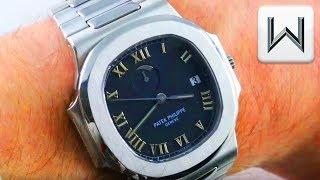 Patek Philippe Nautilus Power Reserve 3710 (3710/1A-001) Luxury Watch Review