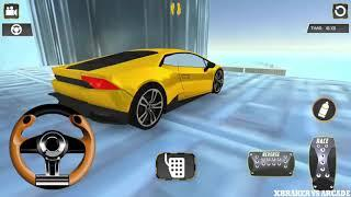 Impossible Tracks Stunt Racing | Luxury Car Driving - Android GamePlay FHD