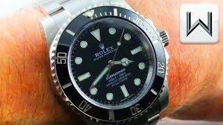 "Rolex Submariner ""No Date"" (114060) No Date Rolex Submariner Dive Watch Luxury Watch Review"