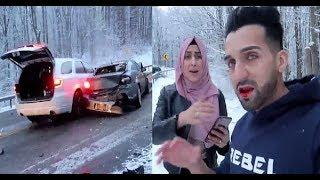 Entertainer Sham Idrees and Friends' Accident (Live Footage)