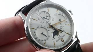 Jaeger-LeCoultre Master Perpetual Calendar 140.8.80.S Luxury Watch Review