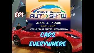 Motovlog #39 : Manila International Auto Show 2019 EP1 | MODIFIED , CLASSIC , HOT CARS & LUXURY CARS