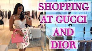 Lux Shopping Vlog in Miami - Dior Event & Gucci Eye Candy!
