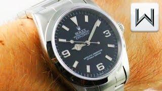 Rolex Oyster Perpetual Explorer 14270 Luxury Watch Review