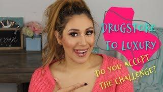 Drugstore to Luxury Subscriber Challenge |Bondbeautyful