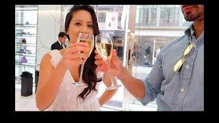 VLOG: Bond Street Shopping Spree!! Champagne & Luxury Shopping