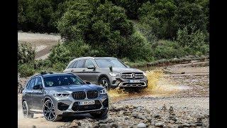 BMW X3M vs Mercedes AMG GLC 2020 | Best Crossover Luxury
