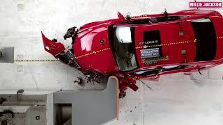 Top 10 LUXURY Cars CRASH TEST {SLow Motion} Most expensive cars CRAZIE