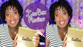 ZAABOX - Black Luxury Spa Box Unboxing Review 2018