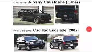 gta5 cars vs real cars