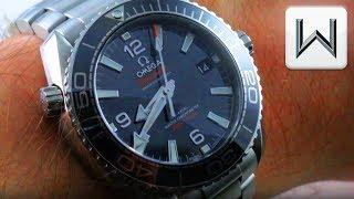 Omega Seamaster Planet Ocean 39.5mm 600m (232.30.38.20.01.001) Luxury Watch Review