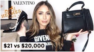 BEST LUXURY DUPES:  SHOES & BAGS - HERMES,  BALENCIAGA, VALENTINO