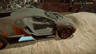 Repairing landfill vehicles (Bugatti Divo 2018) Episode 01
