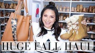 HUGE FALL HAUL - Fall Must Have Shoes, Clothing + Accessories | LuxMommy