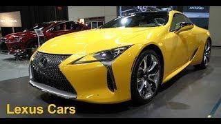 Lexus Luxury Cars @ 2019 Canada Auto Show