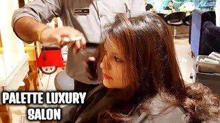 MY NEW HAIRCUT AT PALETTE LUXURY SALON | THE BEST SALON OF EAST DELHI