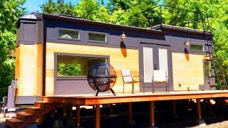 HGTV's Luxury Tiny Home Fully Furnished with 2 Loft Bedrooms and Spacious Living Area