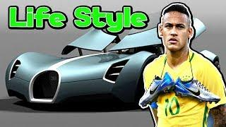 Neymar's - Footballer - Luxury Lifestyle  ★ 2018