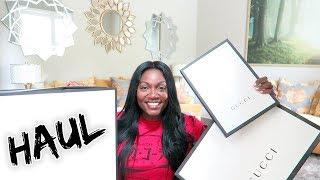 LARGE LUXURY GUCCI HAUL+OTHER GOODIES//LIFE UPDATES