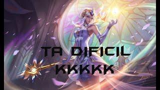 LUX ELEMENTALISTA GAMEPLAY -ESSA SKIN League of Legends -[PT-BR]
