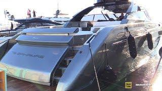 2019 Riva 76 Bahamas Luxury Yacht - Deck and Interior Walkaround - 2018 Cannes Yachting Festival