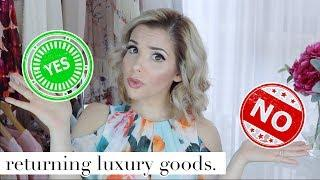 IS IT OK TO RETURN USED LUXURY PRODUCTS? | My Daily Sweet