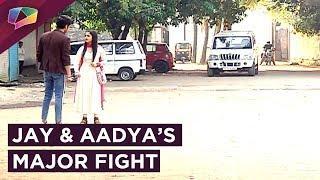 Jay & Aadya Fight On The Streets | Internet Wala Love | Colors tv