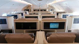 Singapore Airlines A380 Business Class Singapore to London: full experience