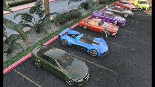 LUXURY CAR MEET LIVE GTA 5 Online - PS4