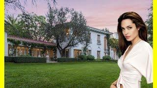 Angelina Jolie House Tour $24950000 Cecil B DeMille House Mansion Luxury Lifestyle 2018