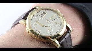 A. Lange & Sohne Lange 1 (101.021) Luxury Watch Review
