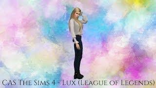 CAS The Sims 4 - Lux (League of Legends)