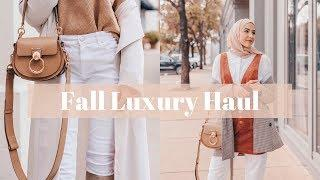 Mini Fall Luxury Haul! Chloe Tess Bag Unboxing