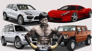 6 Luxury Cars Of Manny Pacquiao
