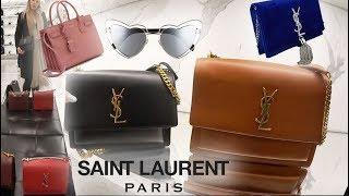SAINT LAURENT Flagship Luxury Shopping Vlog ☆YSL Sunset Bag☆Loulou Bag☆Sac De Jour☆Kate Bag & More!