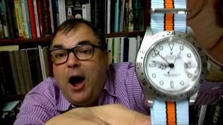 GULF OIL NATO STRAPS - Spruce up your Favorite Luxury Wrist Watch