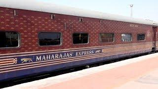 Experience Indian Tourism with The World's Leading Luxury Train , Maharaja s Express ,