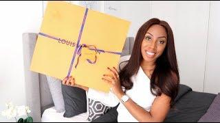 LUXURY HANDBAG UNBOXING | LOUIS VUITTON NEVERFULL GM REVIEW - MY NEW WORK BAG REVEAL