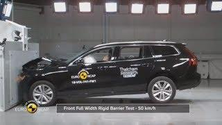 Volvo V60 secure 5-star safety rating by Euro NCAP