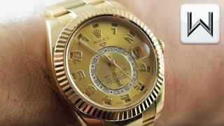 Rolex Sky-Dweller GMT Annual Calendar 326938 Luxury Watch Review