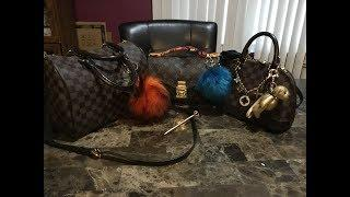 Louis Vuitton luxury bags/my 3 favorite winter luxury bags. Day 1