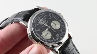 A. Lange & Sohne Datograph 403.035 Luxury Watch Review