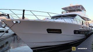 2019 CL Yachts CLB 72 Luxury Yacht - Deck and Interior Walkaround - 2018 FLIBS