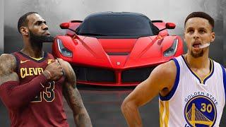 Lebron James Cars Vs Stephen Curry Cars - 2018