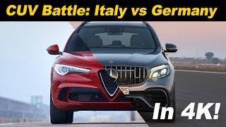 Alfa Romeo Stelvio vs Mercedes AMG GLC 63