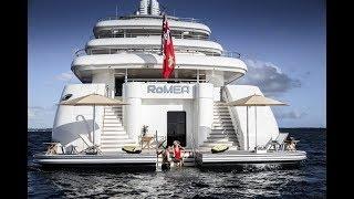 $80,000,000 LUXURY SUPERYACHT RoMEA EXCLUSIVE VIP TOUR
