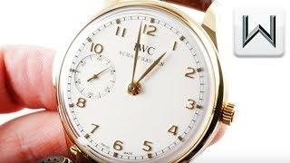 IWC Portuguese Minute Repeater Limited Edition (IW5242-02) Luxury Watch Review