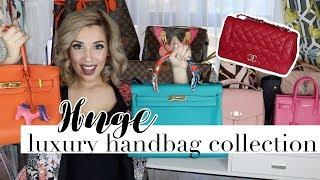 HUGE LUXURY HANDBAG COLLECTION - HERMÈS, CHANEL, LOUIS VUITTON, GUCCI, YSL, PRADA