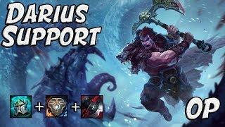 DARIUS SUPPORT vs LUX SUPPORT!